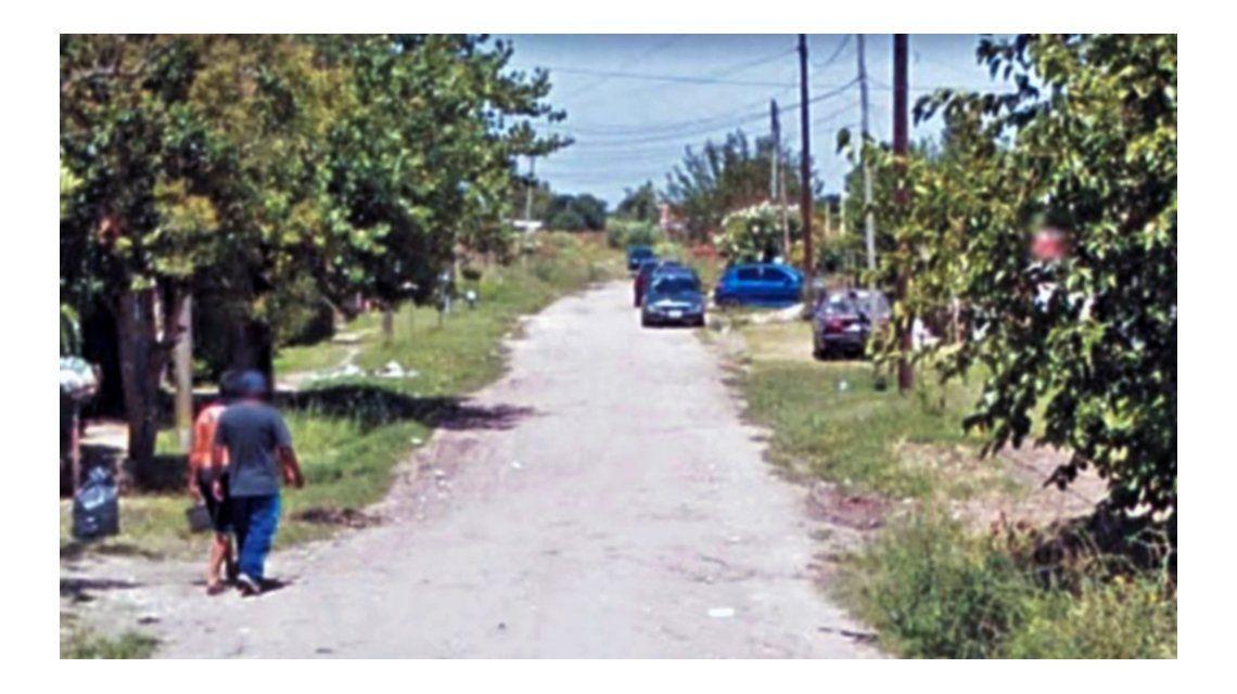 Este es el barrio donde ocurrió el crimen