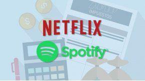 Netflix y Spotify comenzarán a pagar impuestos