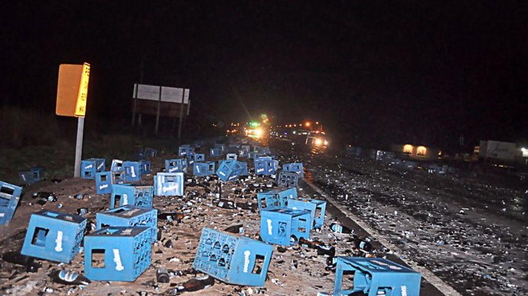 El accidente ocurrió en la Ruta 151