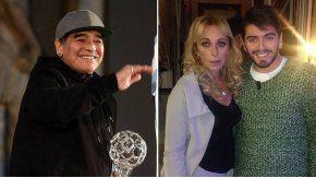 Maradona y Sinagra son padres de Diego Jr.