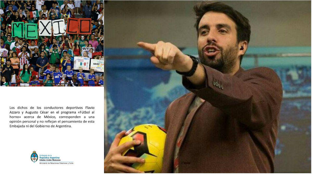 Polémica por las declaraciones de Azzaro sobre el fútbol mexicano