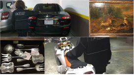 AFIP secuestró una Maserati valuada en 120 mil dólares y una moto KTM en 30 mil.
