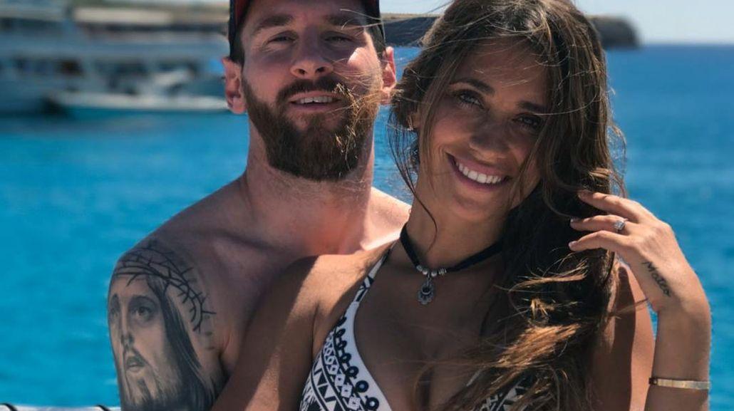 Messi y Antonela ya empezaron su luna de miel