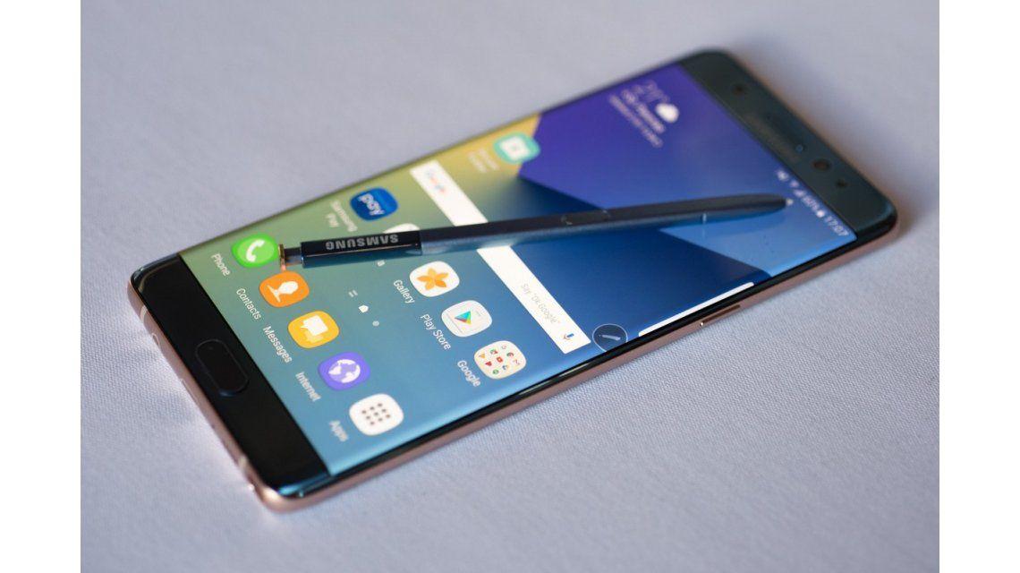 Samsung Galaxy Note 7 vuelve a a la venta después del escándalo de las explosivos