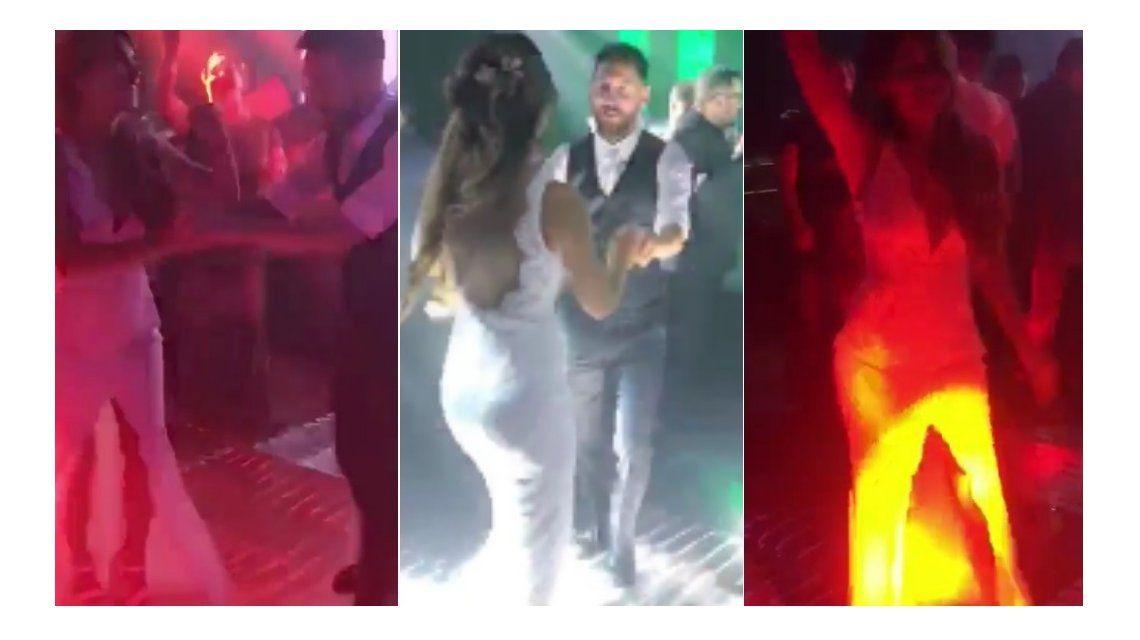 El video de Messi y Roccuzzo bailando cuarteto en la fiesta