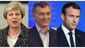 Macri se reunirá con Theresa May y Macron en cumbre del G-20