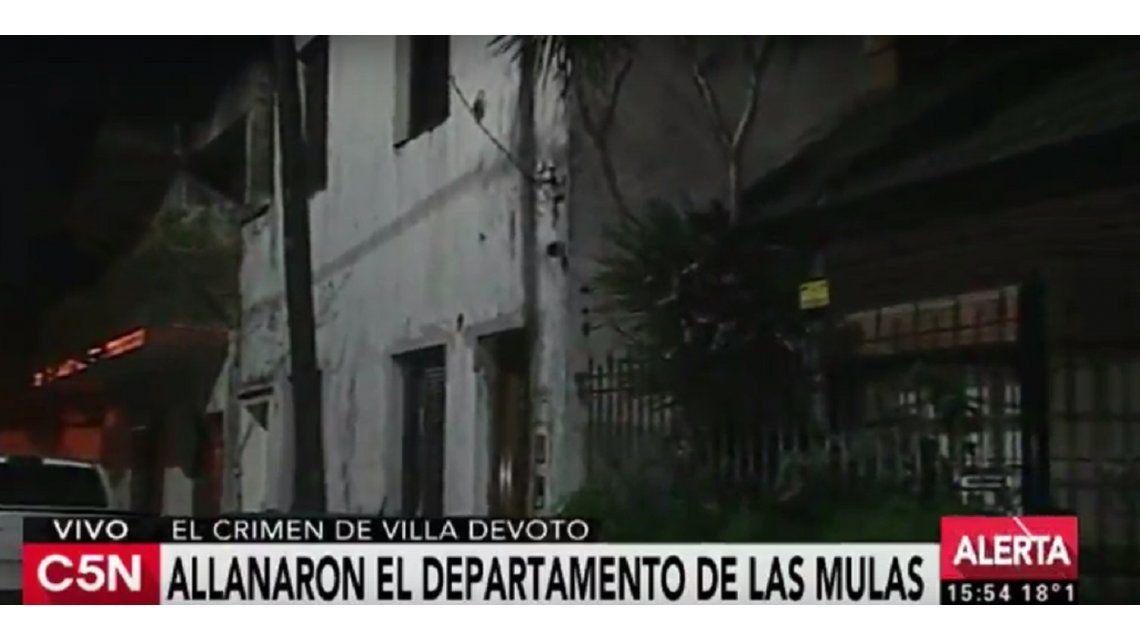 Detuvieron a dos personas por el crimen de la mula narco