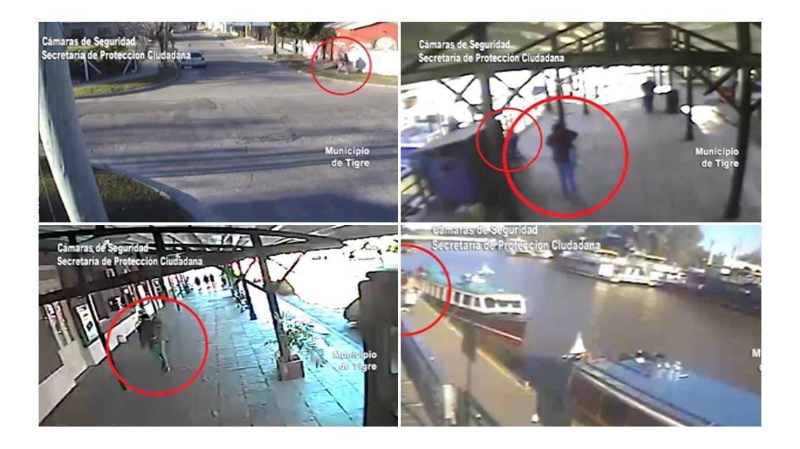 La última imagen de la mujer que apareció asesinada