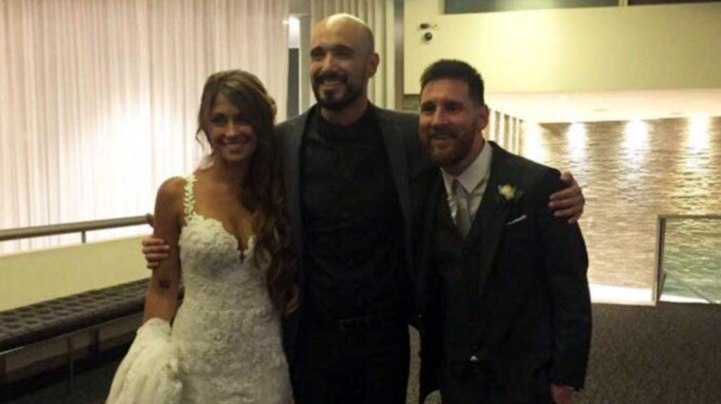 Boda de Messi: el llanto de Antonela con la canción de Abel Pintos