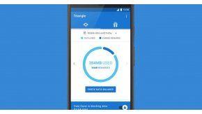 Triangle: Una app que te permitirá ahorrar datos