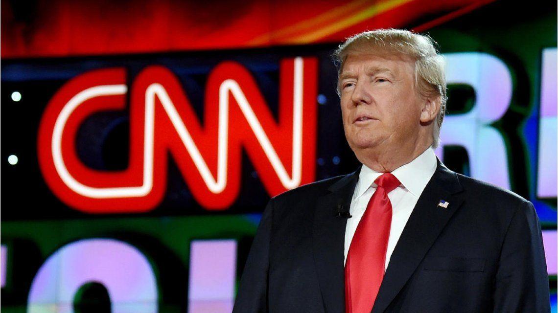 CNN le respondió a Trump