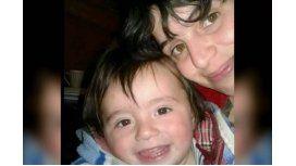 Georgina Díaz con su hijo Thiago Díaz
