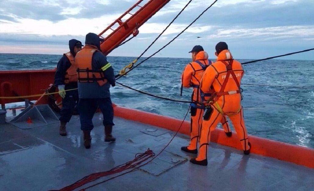 Encontraron el casco del buque Repunte