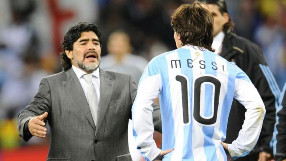 Diego y un ¿reproche? a Leo por no haberlo invitado a la boda
