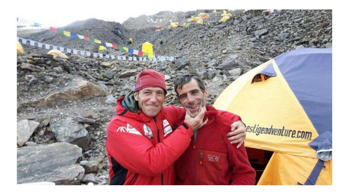 Mariano Galván y Alberto Zerain ya habían hecho travesías juntos