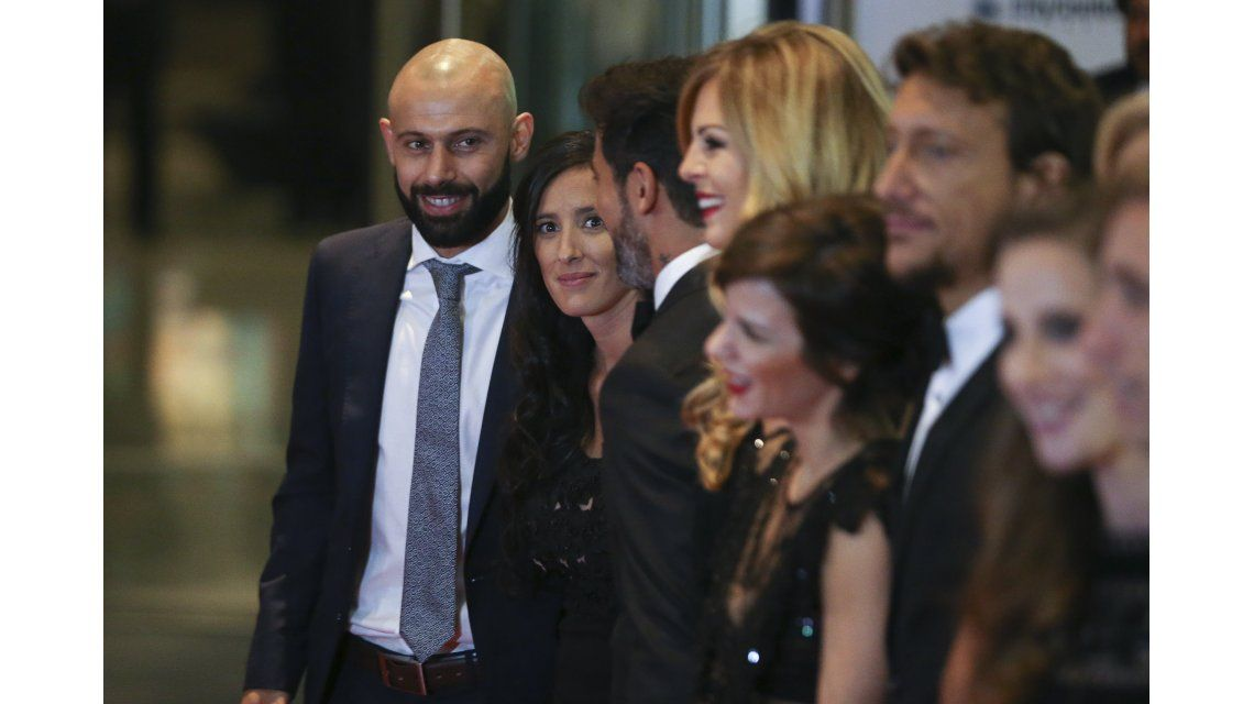 Javier Mascherano sonríe para la cámara