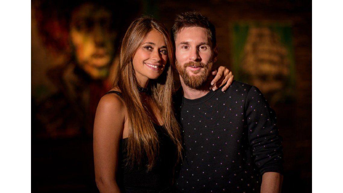 La última foto de Messi y Antonella antes de su casamiento.