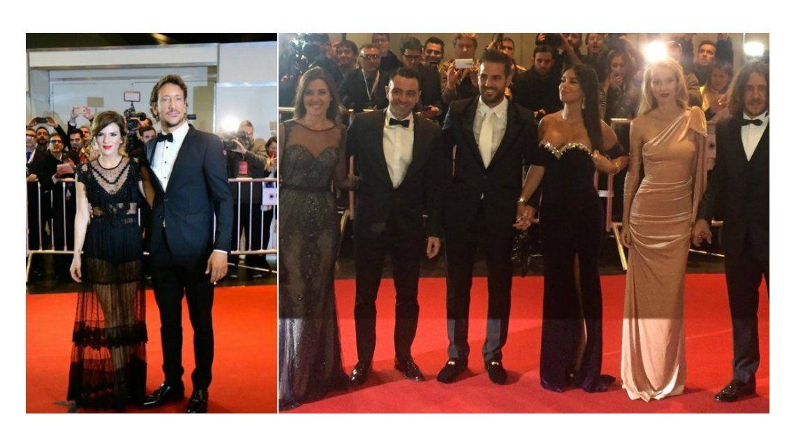 El look de los famosos invitados al casamiento de Messi y Antonella
