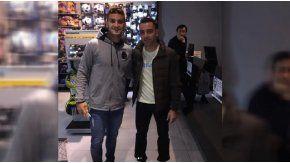 Xavi, de paseo por Rosario