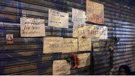 El cartel que los jubilados dejaron en la puerta de Anses