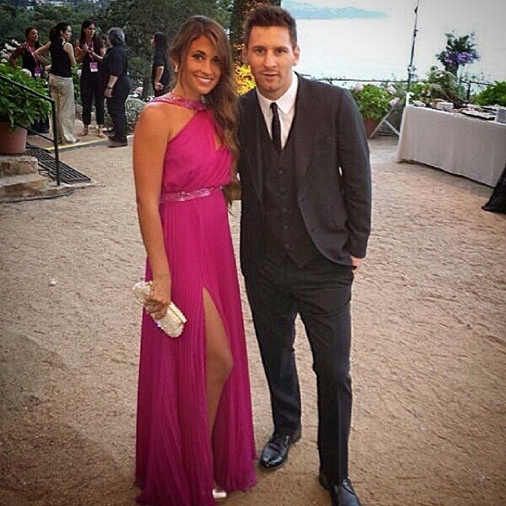 La despedida de solteros de Messi y Antonella en Rosario.