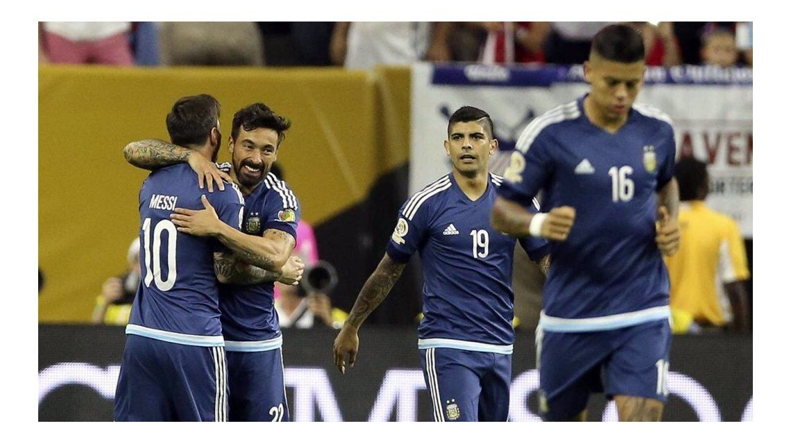 Lavezzi ya está en Rosario para el casamiento de Messi