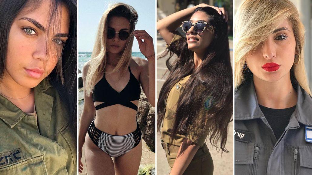 La sensualidad de las integrantes del ejército de Israel
