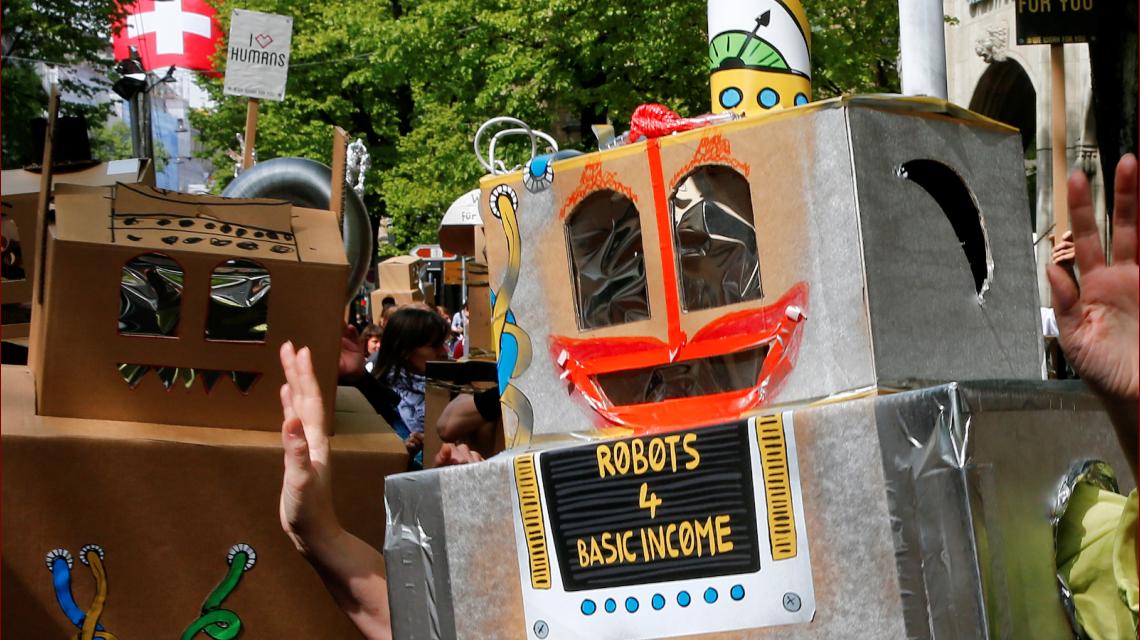 Salario universal: los robots podrían sacarte el trabajo