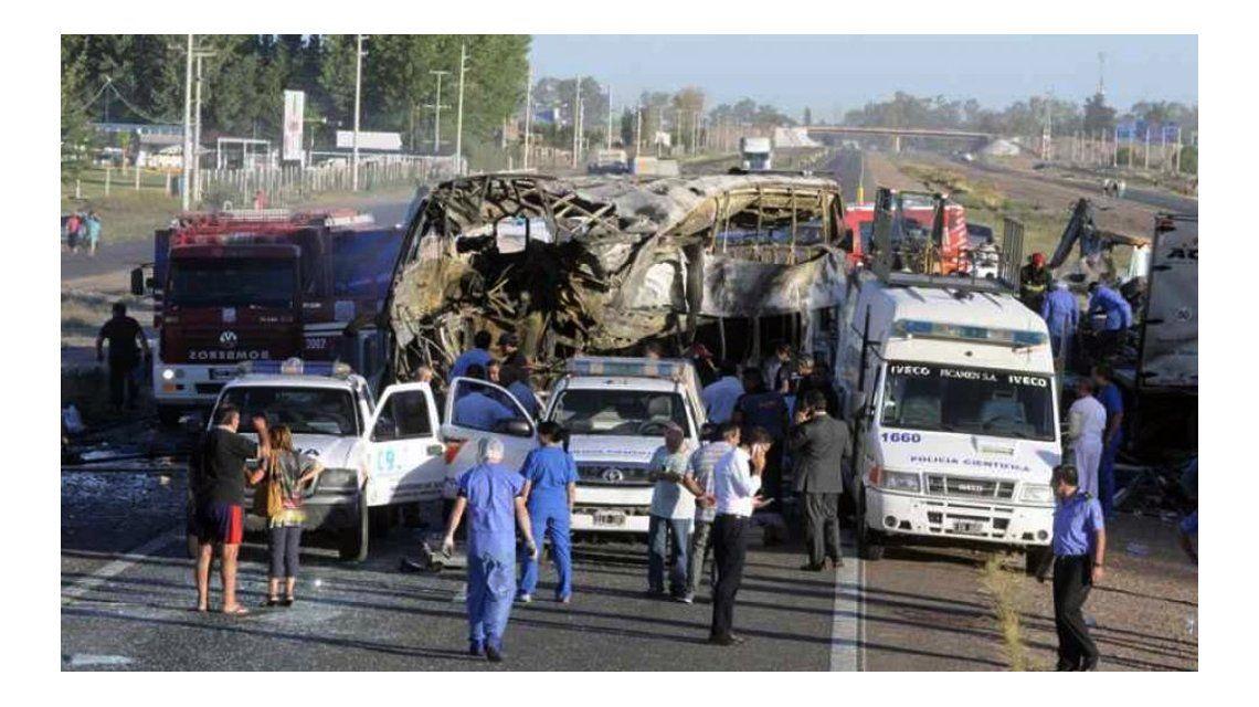 Tragedia en Mendoza: el segundo chofer se abstuvo de declarar