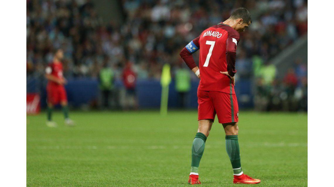 La tristeza de Cristiano Ronaldo