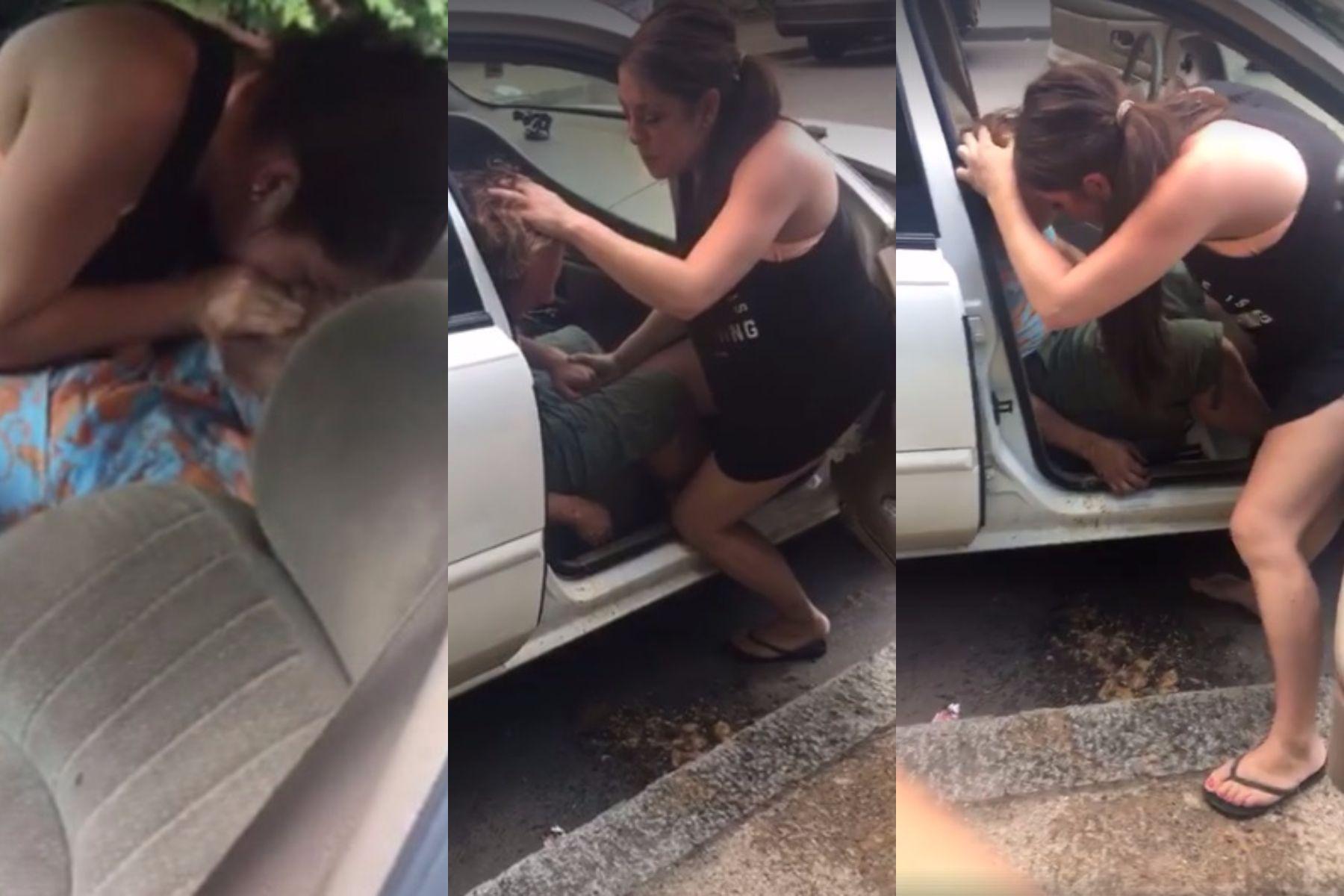 Intentó reanimar a su novio y lo transmitieron en Facebook Live