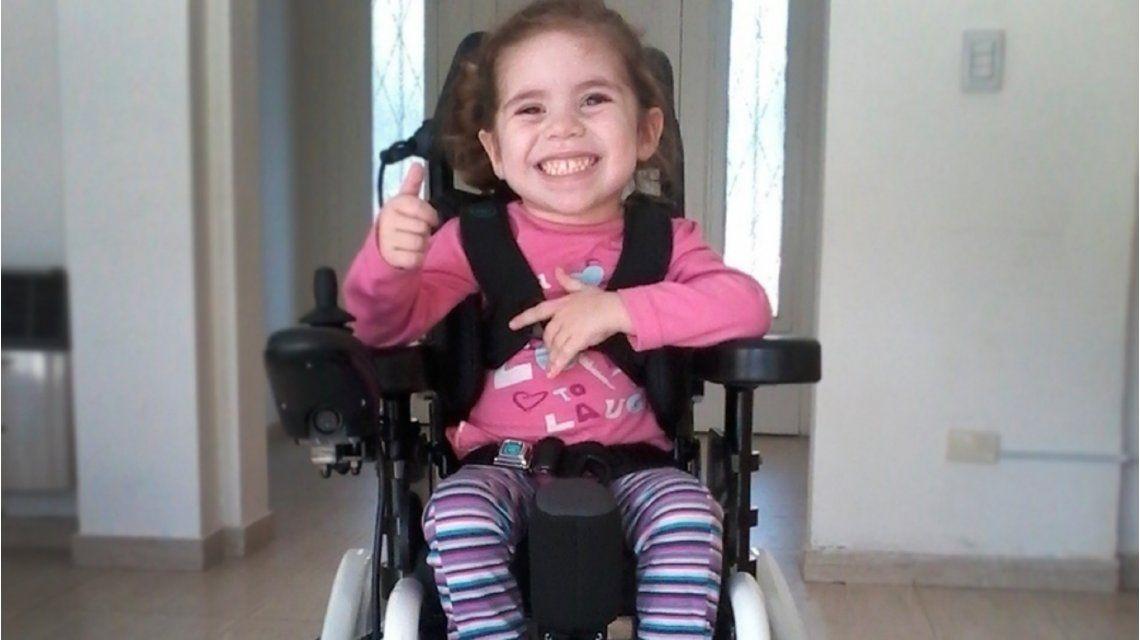 Vicky padece artrofia muscular espinal