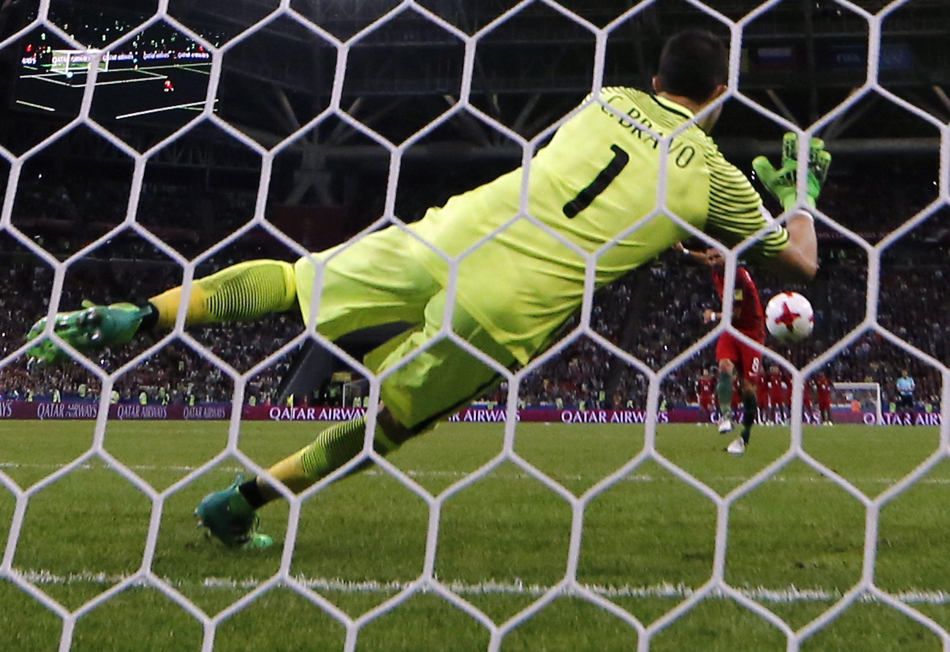 Otra vez por penales: Chile se cargó a Portugal tras eliminar dos veces a Argentina