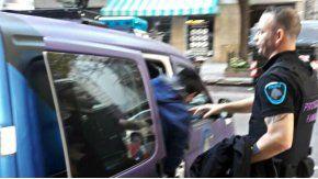 La policía de la Ciudad detuvo a dos personas