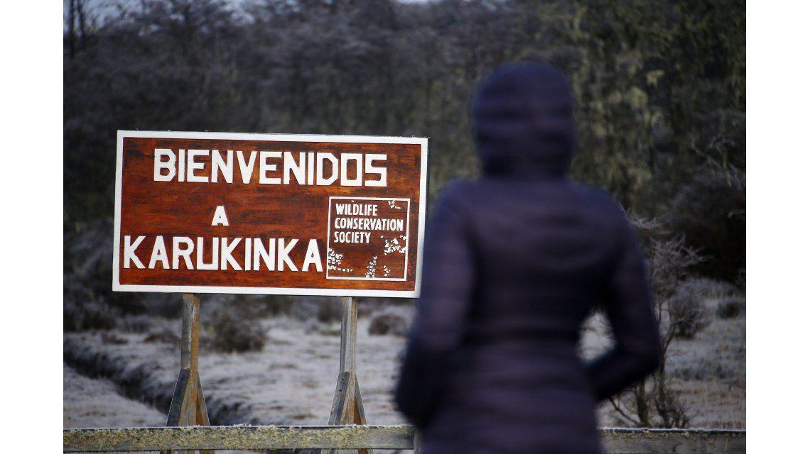 El acceso a Karukinka