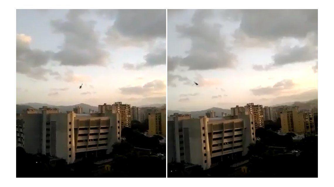 VIDEO: Así fue el ataque del helicóptero contra el Tribunal Supremo de Venezuela