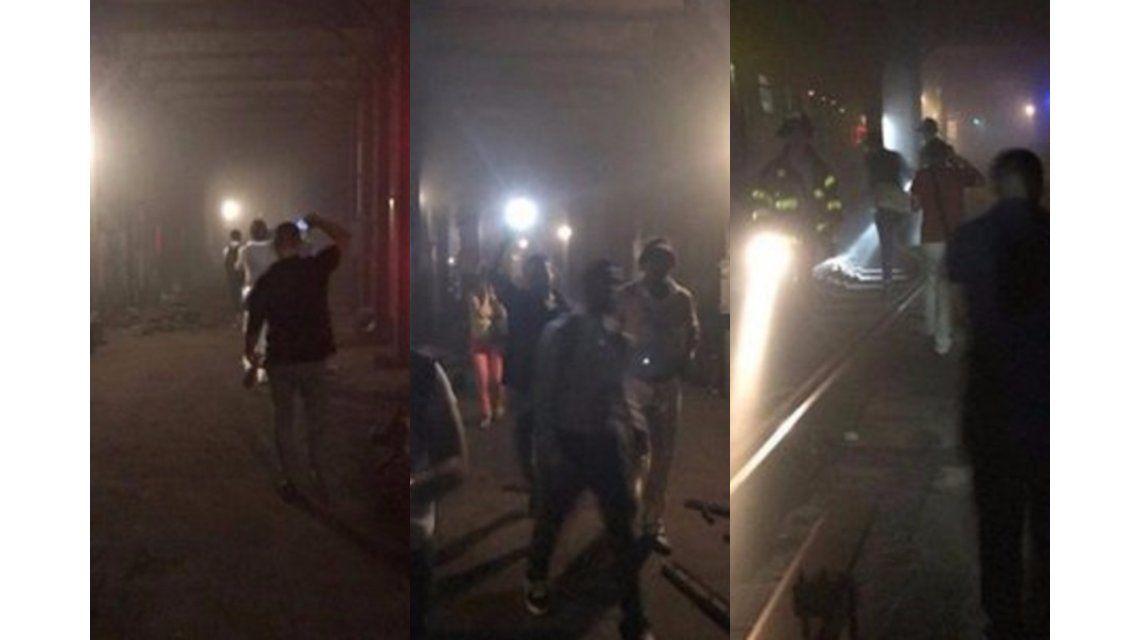 Al menos 34 heridos tras descarrilar un tren del subte de Nueva York