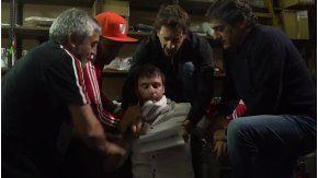 Cavenaghi, secuestrado en su video