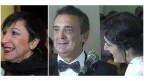 Las dos declaraciones perlitas del casamiento de Cecilia Milone y Nito Artaza