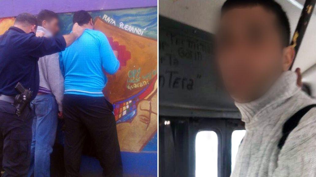 VIDEO: Escracharon a dos hombres por manosear a chicos en un colectivo