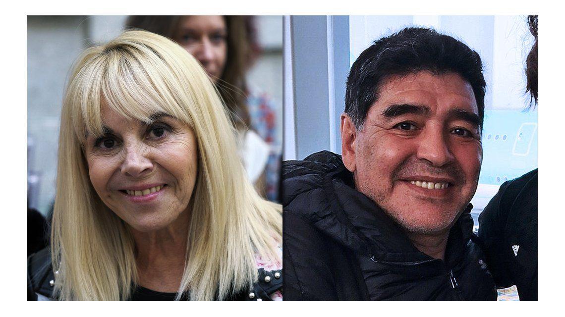Claudia Villafañe vs Diego Maradona