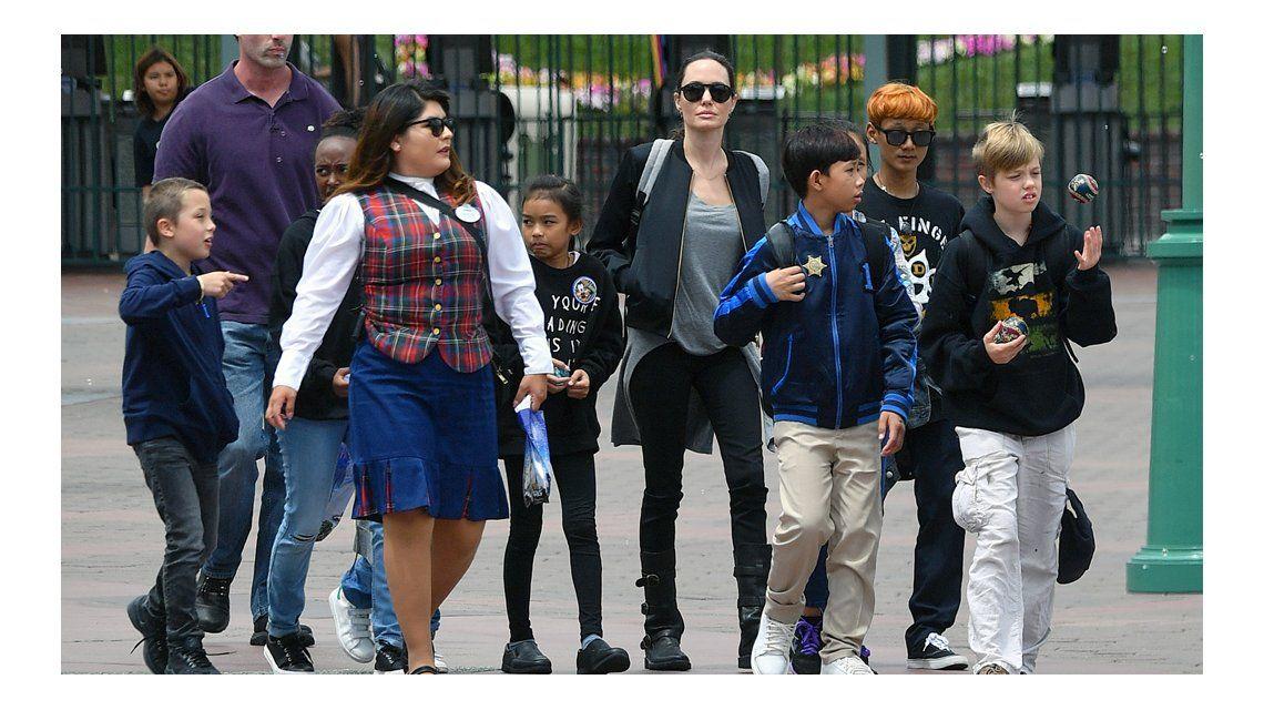 La hija de Angelina Jolie y Brad Pitt