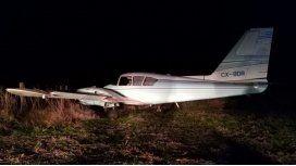 Derribaron una avioneta en San Antonio de Areco con 450 kilos de marihuana