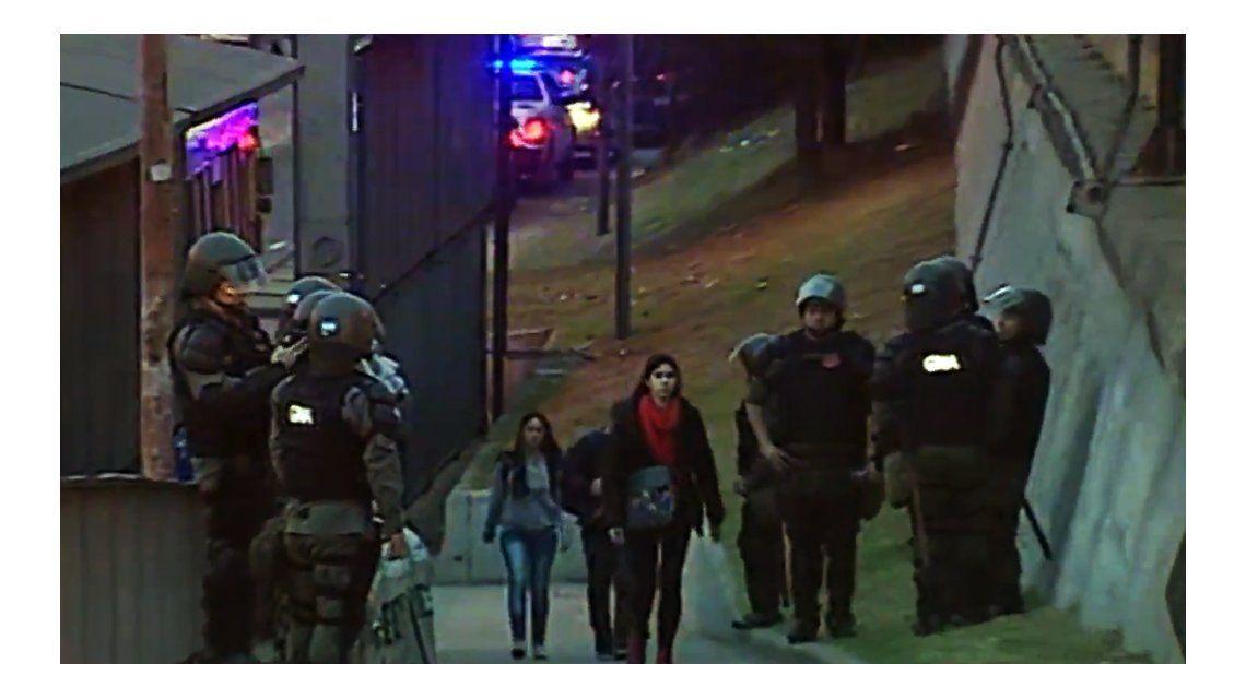 Gendarmería custodia las inmediaciones de la Panamericana