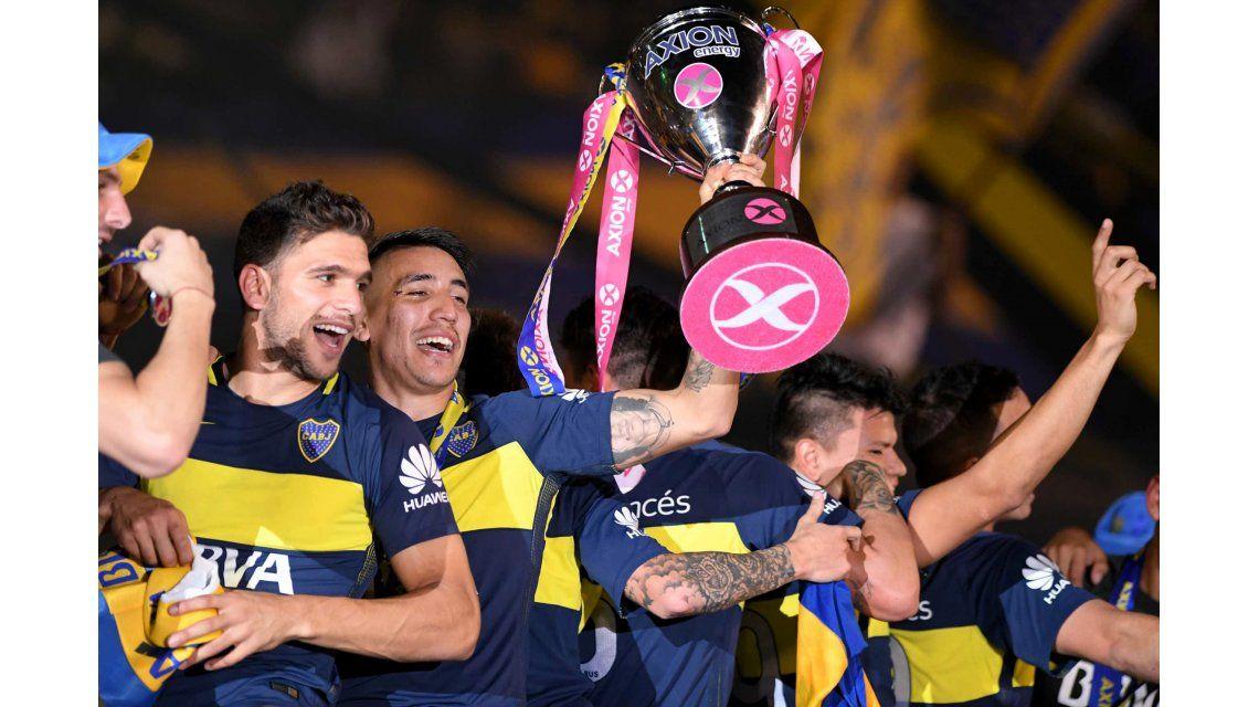El fixture de Boca en el Torneo de Primera División 2017/18
