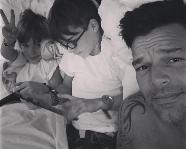 Ricky Martin y un mensaje especial por el Día del orgullo gay.