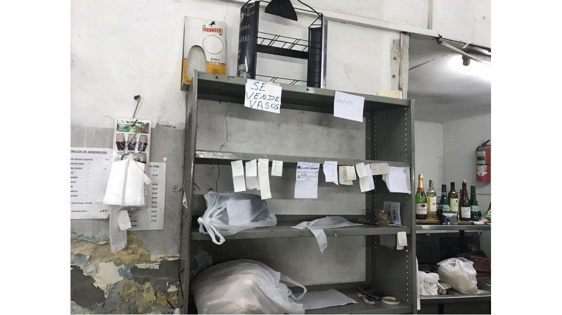 San Telmo: tras 24 años, una comerciante cierra su rotisería por la inflación