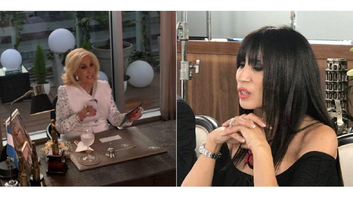 Mirtha Legrand y Marixa Balli