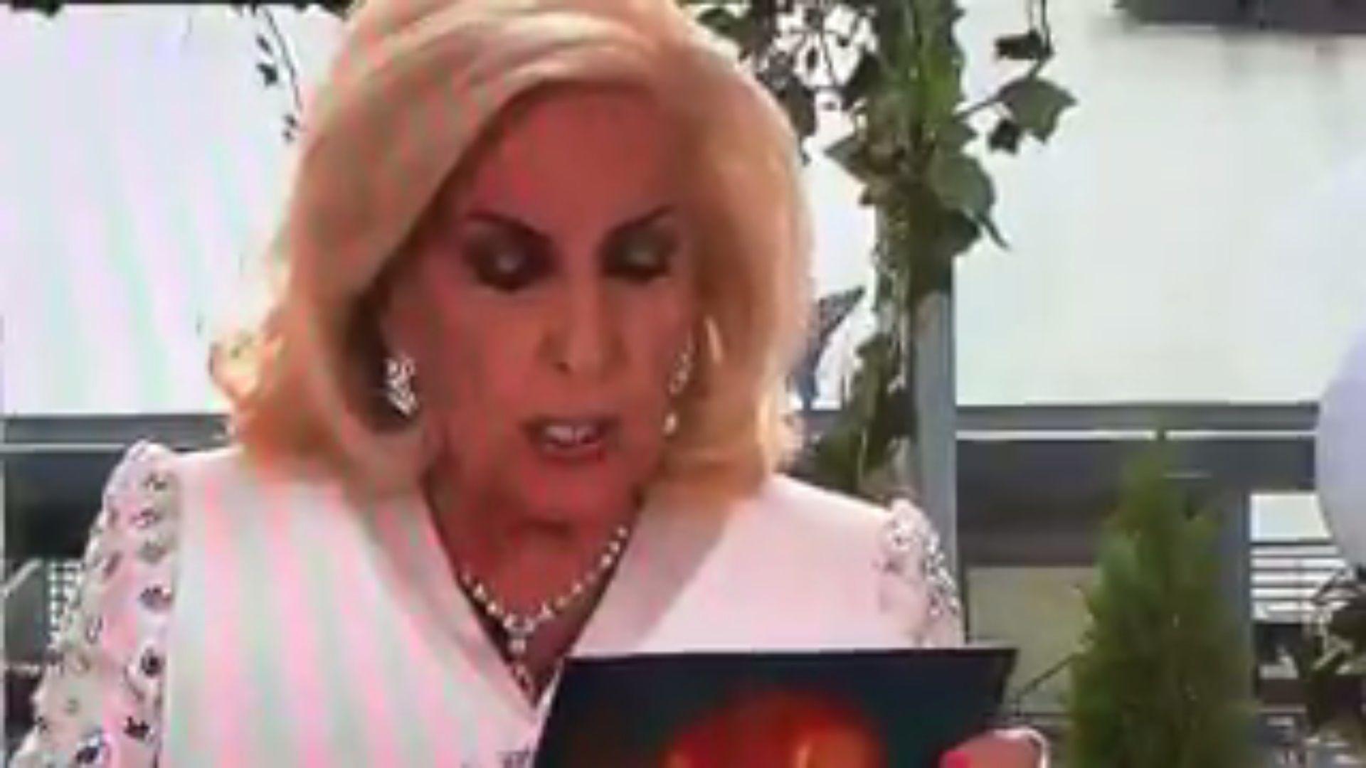 VIDEO: Un hincha de Rosario Central se coló en el programa de Mirtha