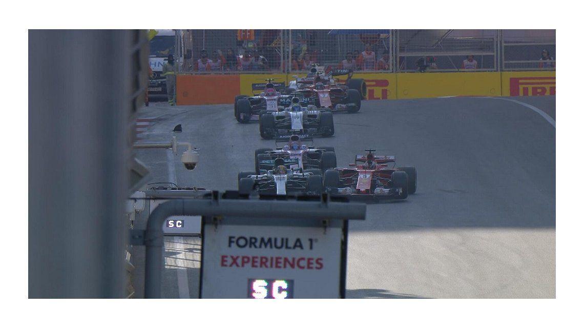 La increíble reacción de Vettel